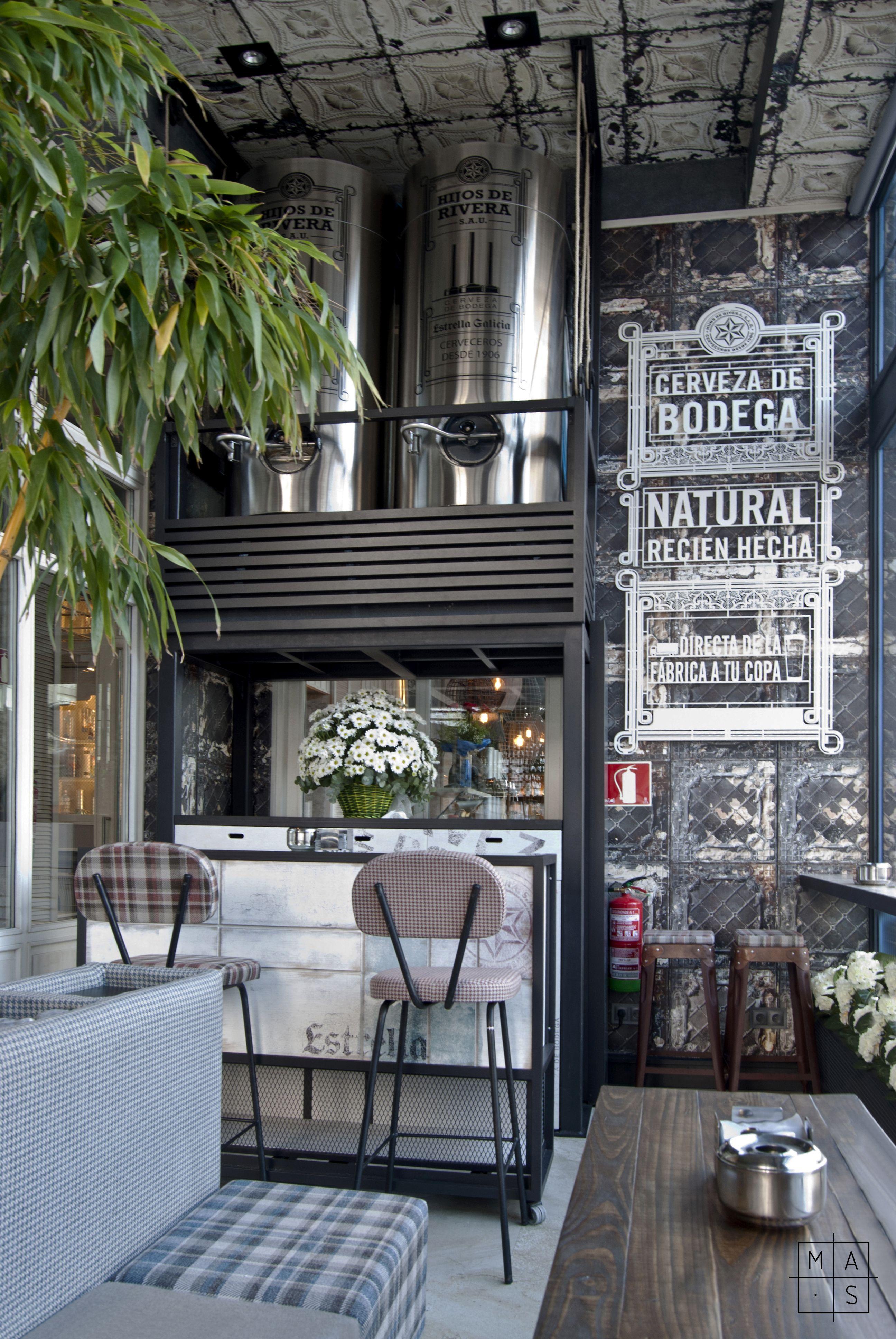 Bogart baar proyecto de interiorismo y dise o de mobiliario por mas arquitectura - Interiorismo y diseno ...