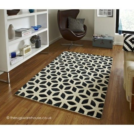 Fusion Fs 04 Black Cream Rug With Fast Free Uk Delivery Best Price Online Guarantee Huge Choice Of Quality Styles And Designs In Stock At Land Rugs