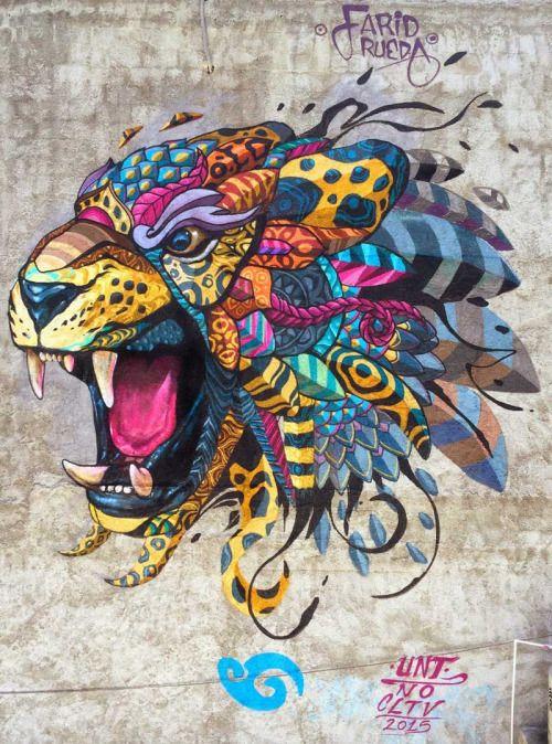 Street art by Farid Rueda