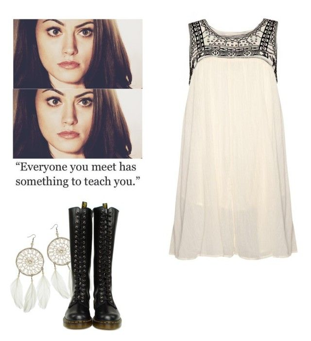 Hayley Marshall - The Originals by shadyannon on Polyvore featuring polyvore fashion style Dr. Martens Dorothy Perkins clothing