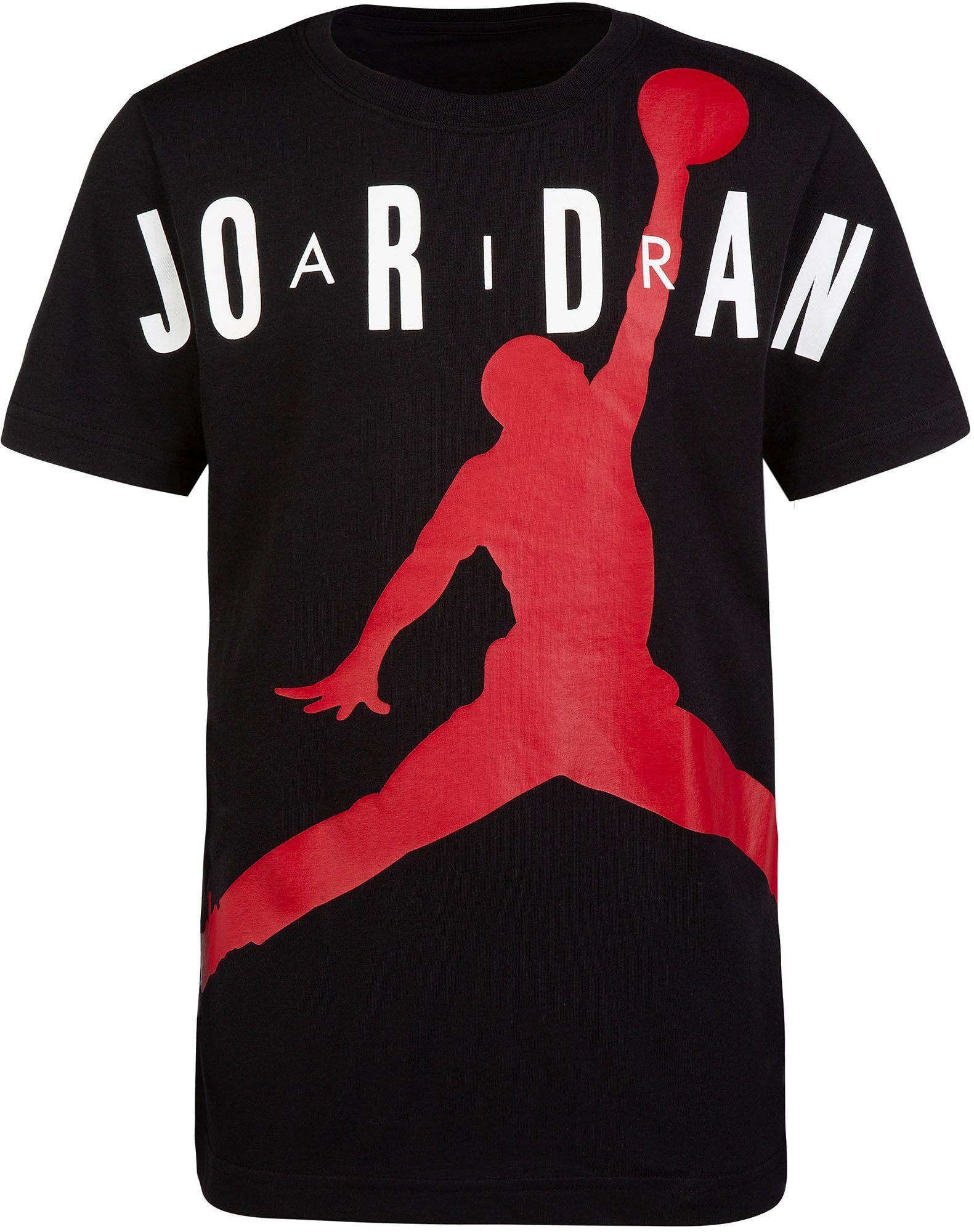 41daf029cf9e70 Jordan Boys' Air Jumpman T-Shirt, Size: Small, Black | Products in ...