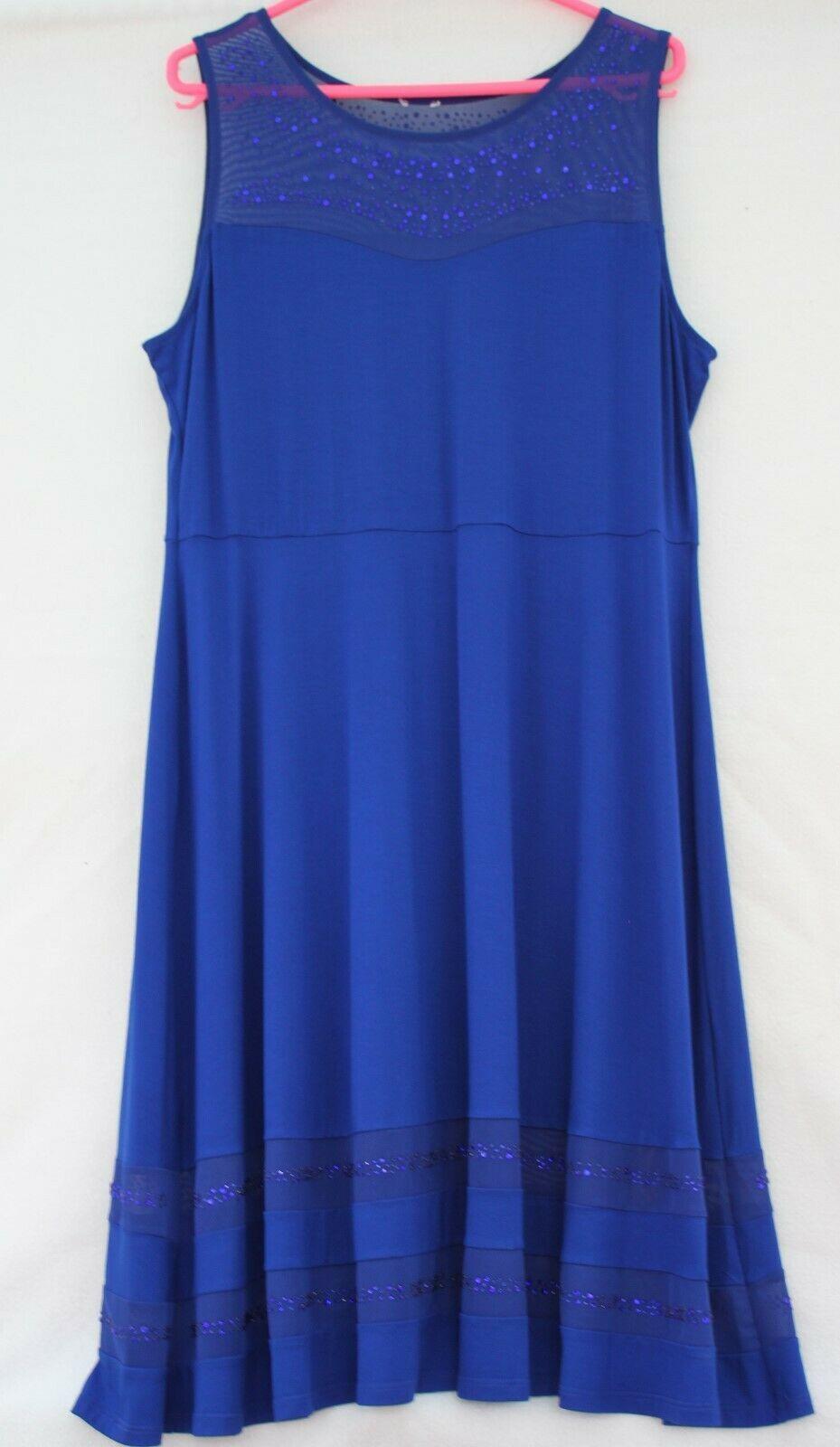 Superschones Festkleid In Royalblau Dreiteiligbestehend Aus Kleid In 44 46 Spit Schone Kleider Ideas Of Schone Kleider Sleeveless Top Fashion Women S Top