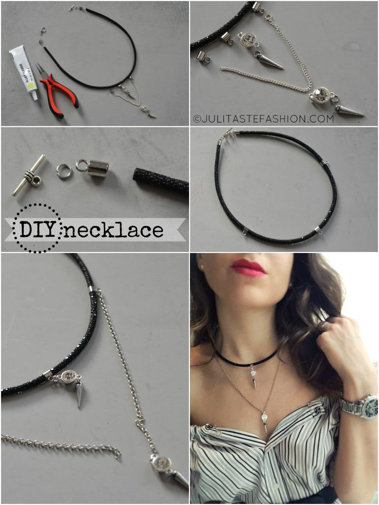 Lovely Diy Tutorials Step By Step Necklace Images - Jewelry ...