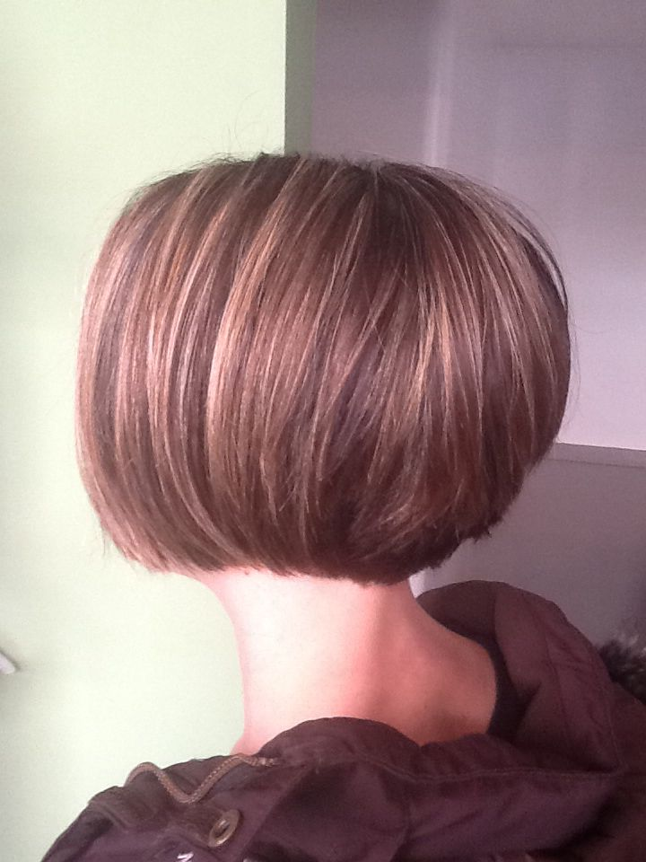 Hair Style Short Bob: 1000+ Ideas About Stacked Bob Long On Pinterest