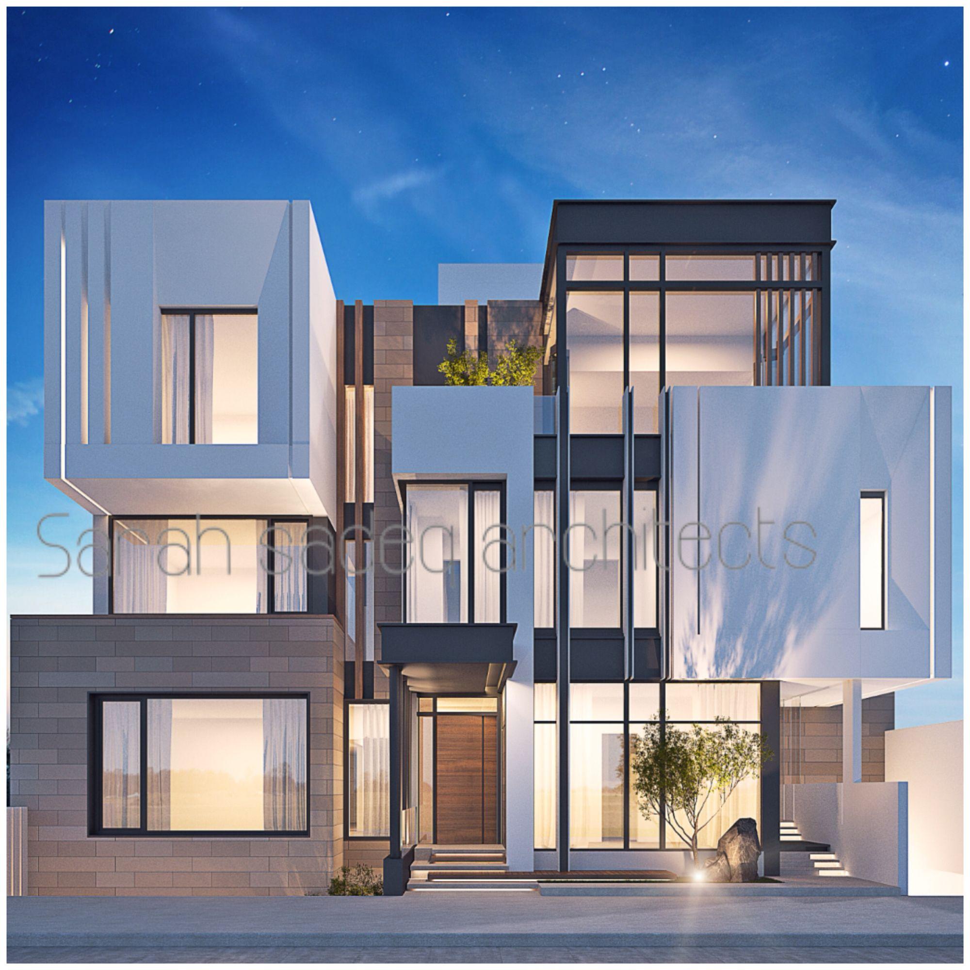 private villa by sarah sadeq architects kuwait casas
