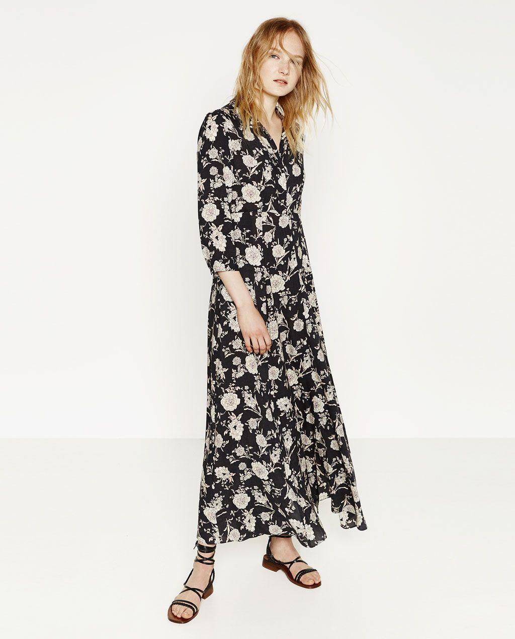 971f98059a FLORAL PRINT DRESS-Maxi-DRESSES-WOMAN-SALE | ZARA United States ...