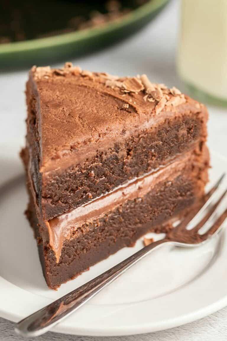 Keto Flourless Chocolate Cake- The BEST Low Carb Flourless Cake - The Big Man's World ®