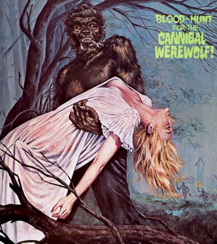 Cannibal Werewold by peterpulp.deviantart.com on @DeviantArt
