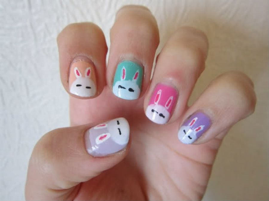 Cute+Nail+Art+Designs+for+Short+Nails | ... Nail Art ...