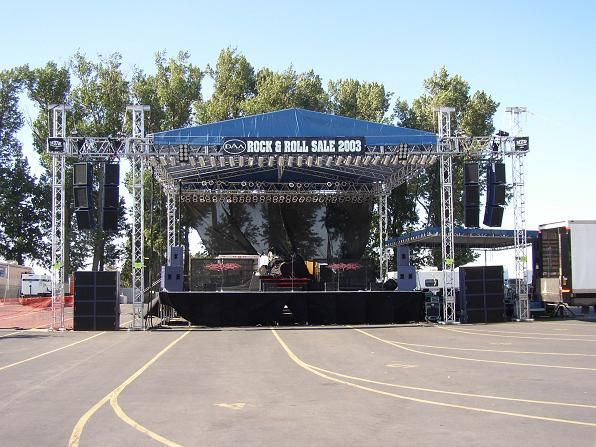 Stage Truss Can Not Be Underestimated Concert Stage Concert Stage Design Portable Stage