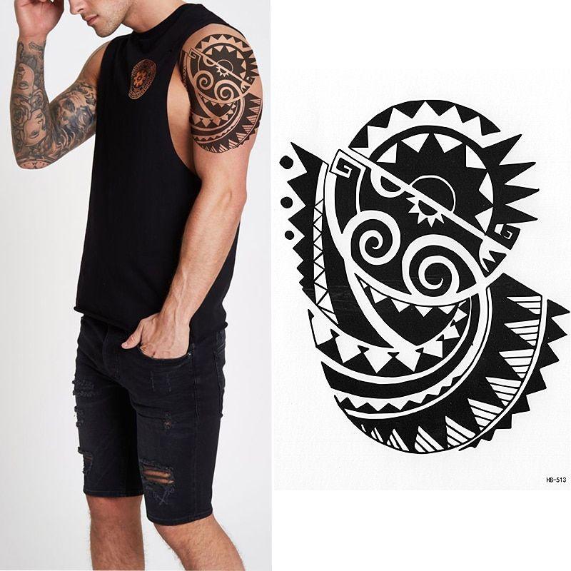 MAORI SUN TEMPORARY TATTOO, SUN, EARTH, TRIBAL MENS, WOMENS, POLYNESIAN, STICKER is part of Temporary tattoos, Temporary tatoo, Traditonal tattoo, Sun tattoos, Tribal tattoos, Tattoos - MAORI SUN TEMPORARY TATTOO, SUN, EARTH, TRIBAL MENS, WOMENS, POLYNESIAN, STICKER  Linh's Corner