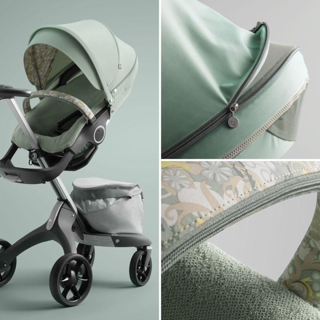 Stokke Stroller Summer Kit Salty Blue Stroller Stokke Stroller Stroller Accessories