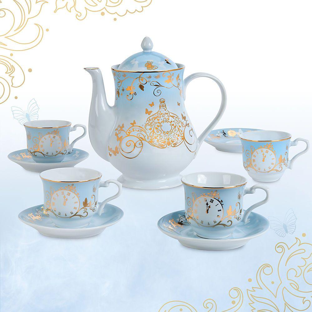 Cinderella limited edition fine china tea set live Cinderella afternoon tea