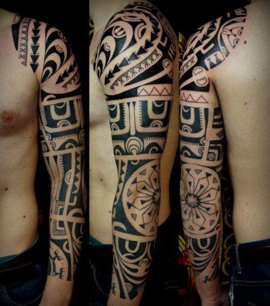 polynesian tattoo unterarm - Google-Suche