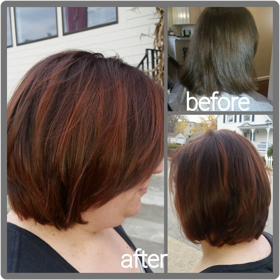 Copper Color Melt By Katie At Radura Salon And Spa In Manchester Nh