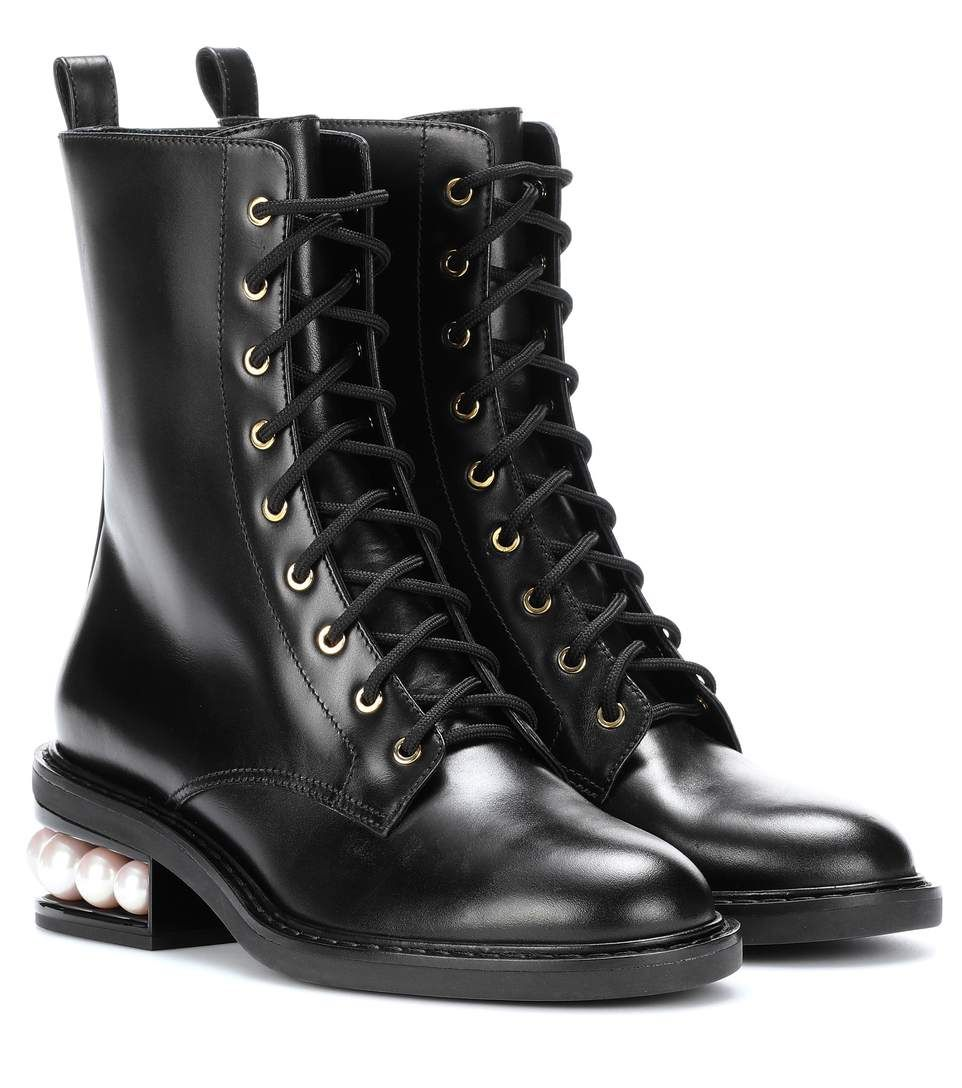 Nicholas Kirkwood Leather Cowboy Boots Outlet Amazing Price bfdGE