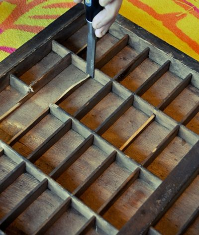 DIY With Crate Paper- Vintage Printers Tray