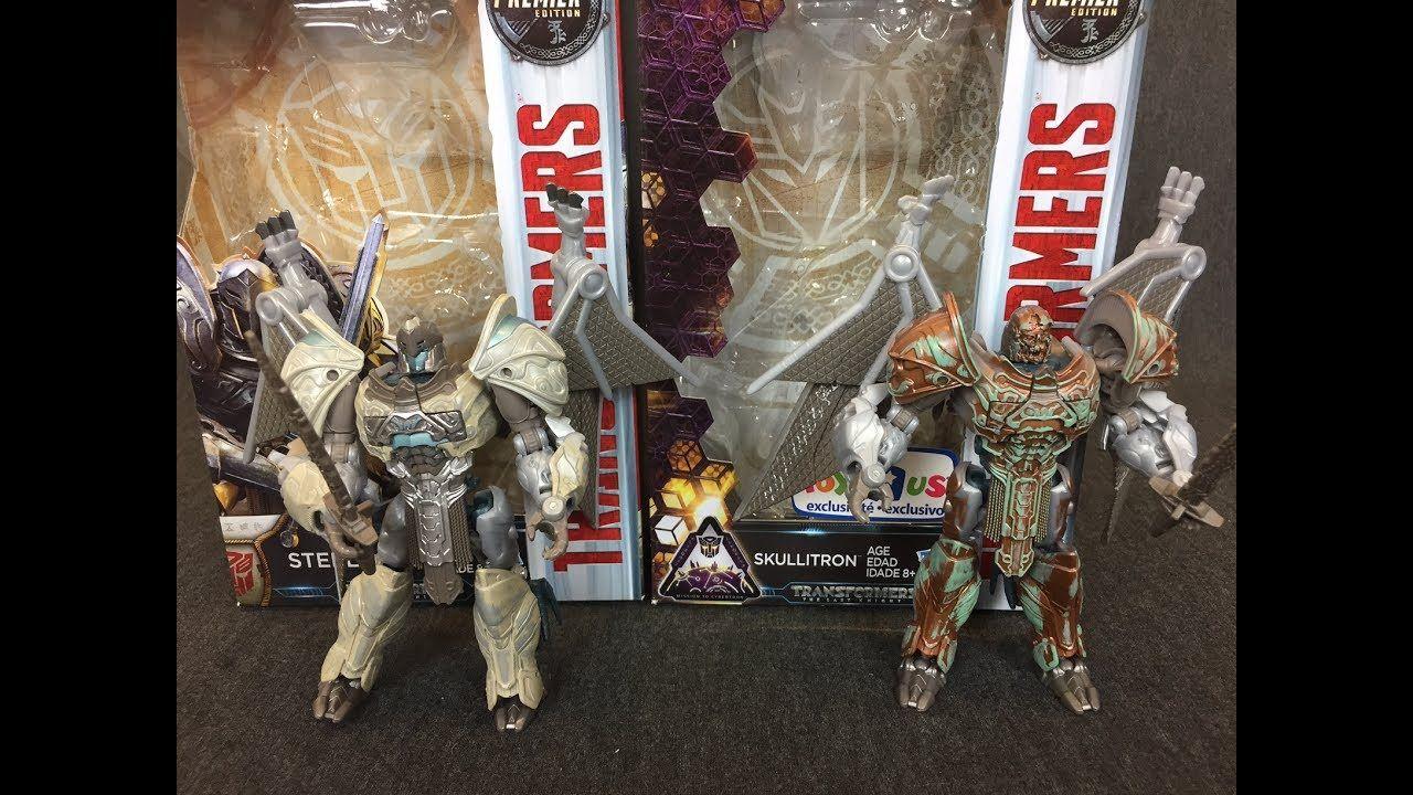 Hasbro Transformers The Last Knight Premier Deluxe Skullitron Deluxe Action Figure Hasbro Toys