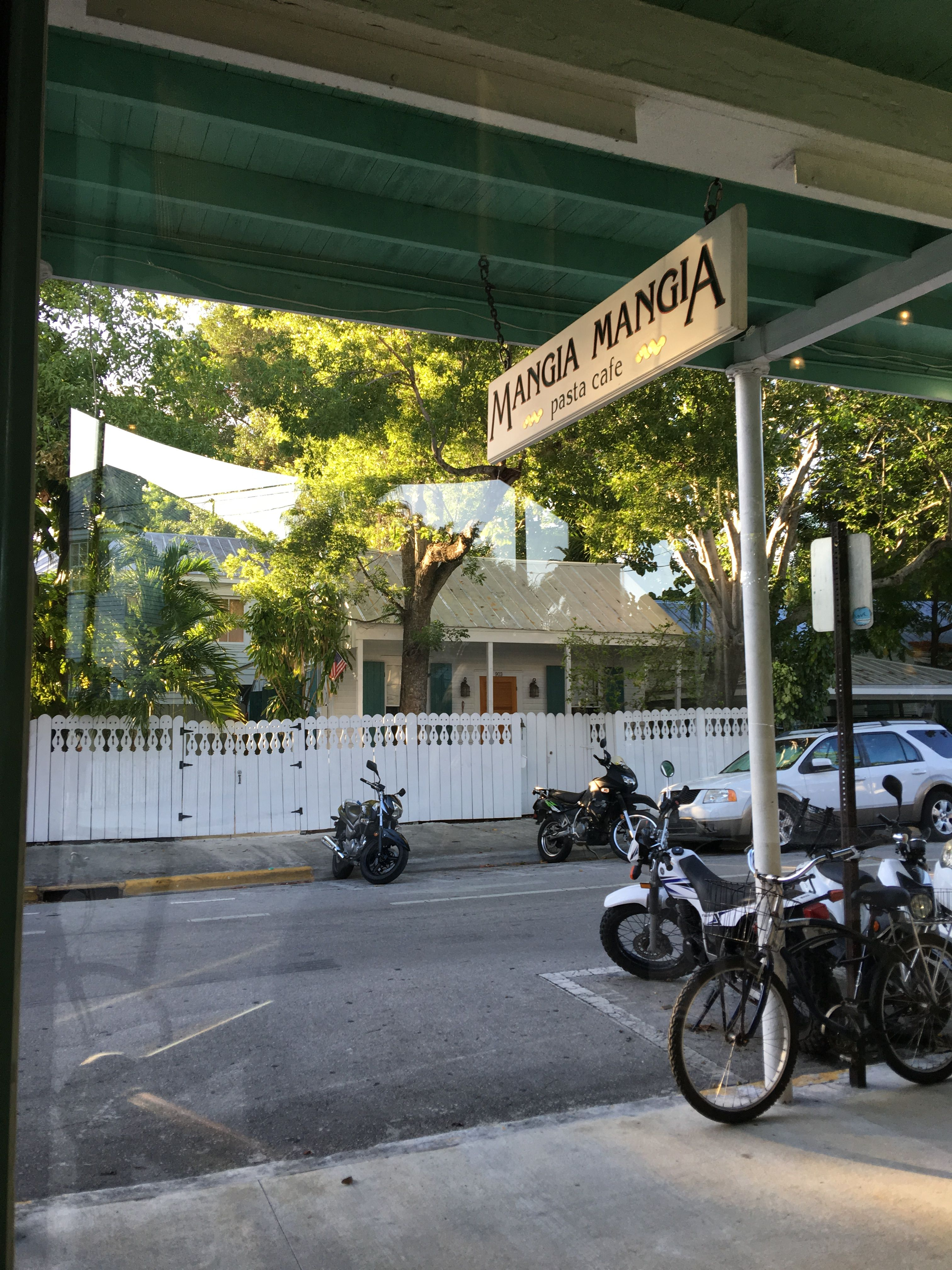 Mangia Mangia - A Must try in Key West! Chicken parm with aged Parmesan was to die for!
