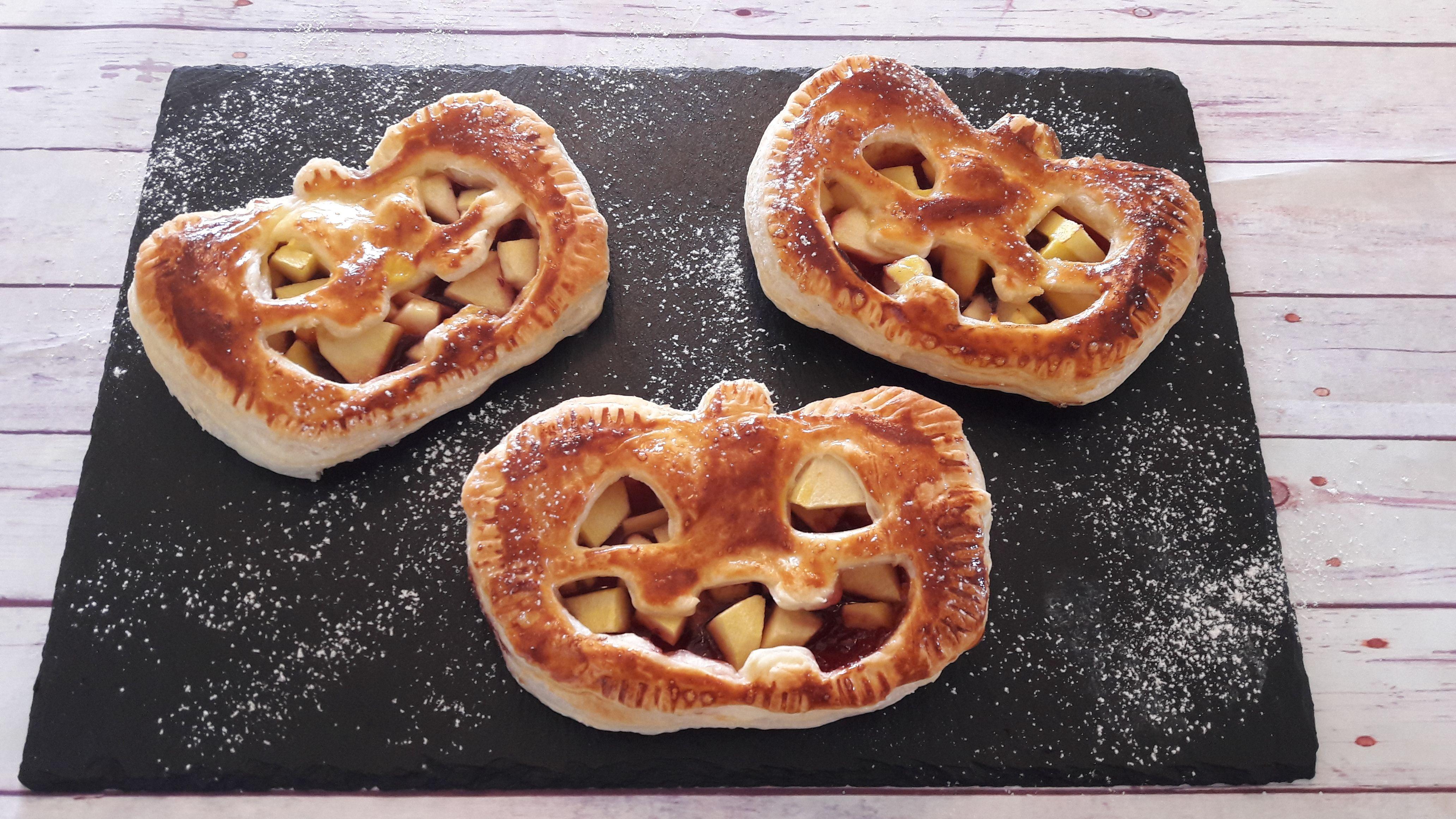 Fagottini di halloween alle mele e succo di bergamotto - La ...