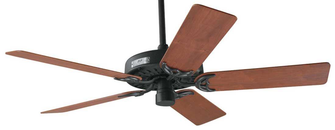 Hunter Original Clic 23855 52 Inch Black Cast Iron Indoor Ceiling Fan