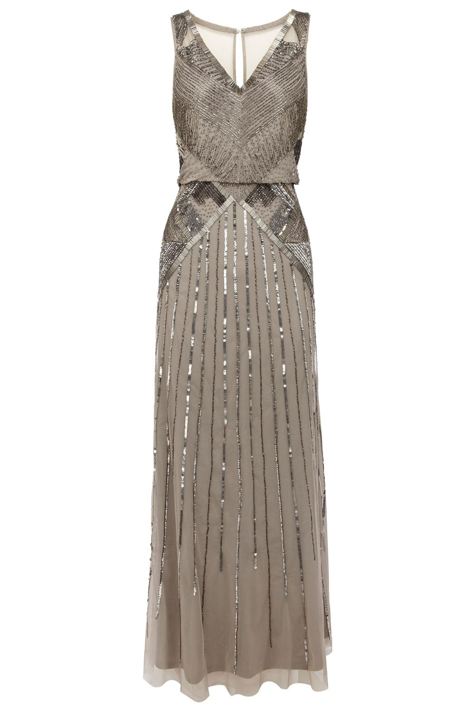 Art Deco Style Coast Evening Dress | Flapper style dresses, Flapper ...