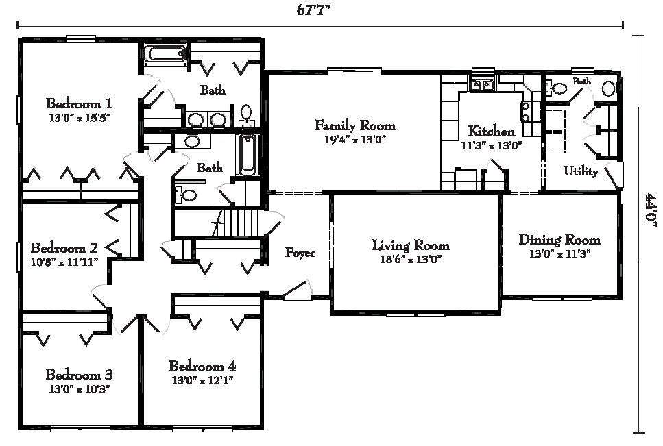 10 Awesome Raised Ranch House Ideas Ranch House Plans House Plans Ranch House