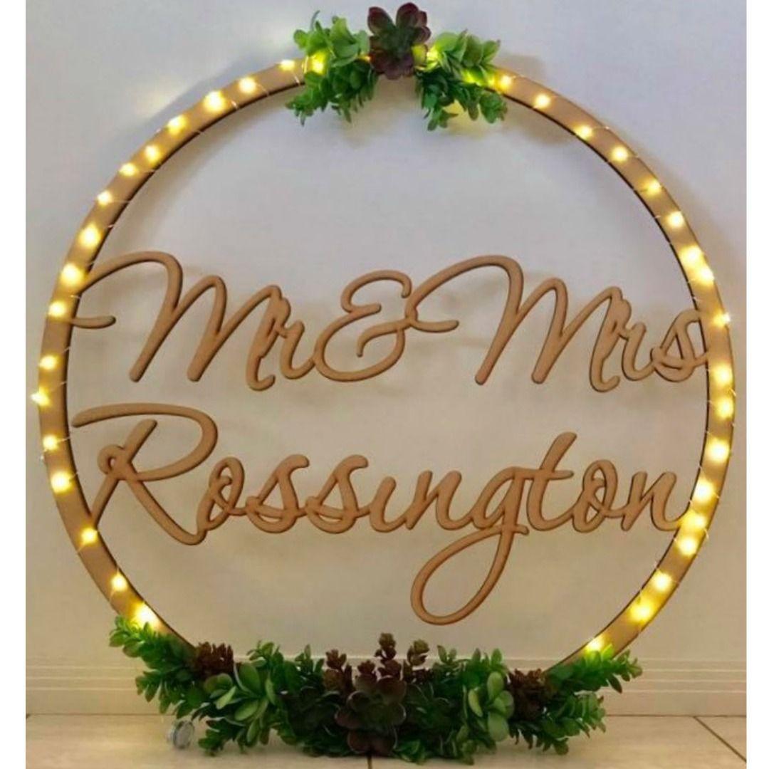 Wedding Sign Ring Mdf Raw Lasercut Australia Wooden Personalised Customised Custom Gi Wooden Wedding Signs Wedding Signs Bridal Shower Bachelorette Party Ideas