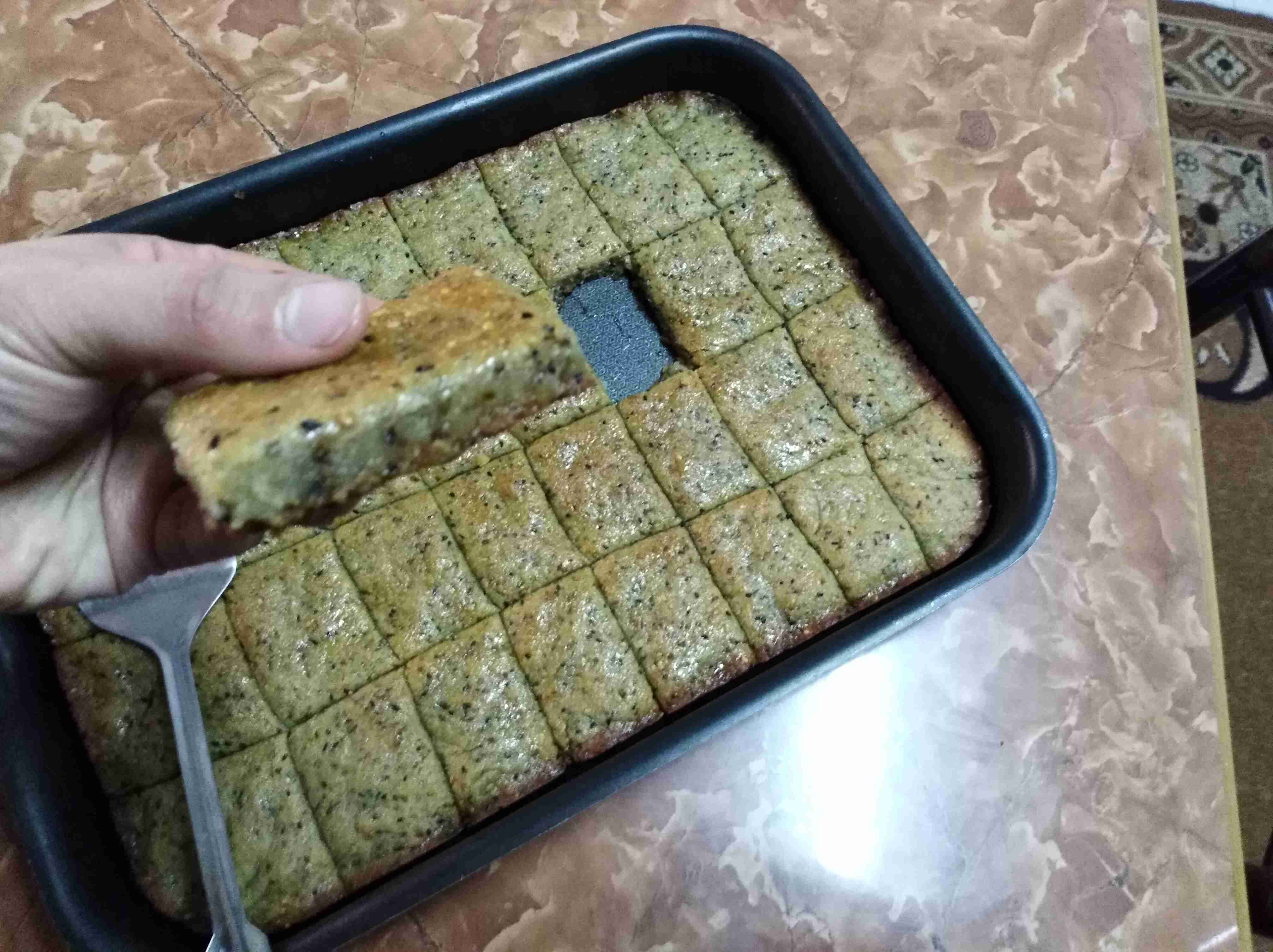 طريقة عمل صينية يانسونيه زاكي Sweets Recipes Arabic Sweets Middle Eastern Desserts
