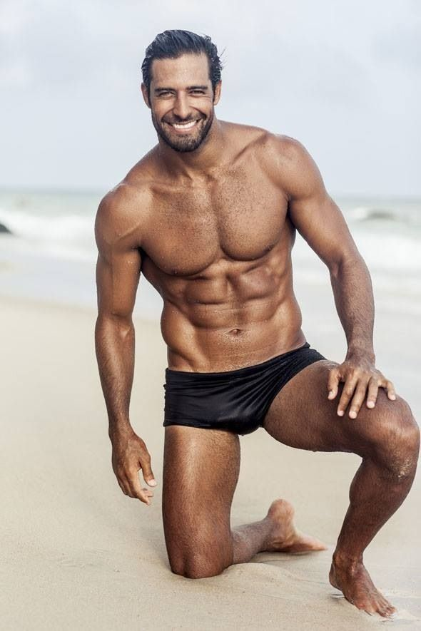 Sexy male physique
