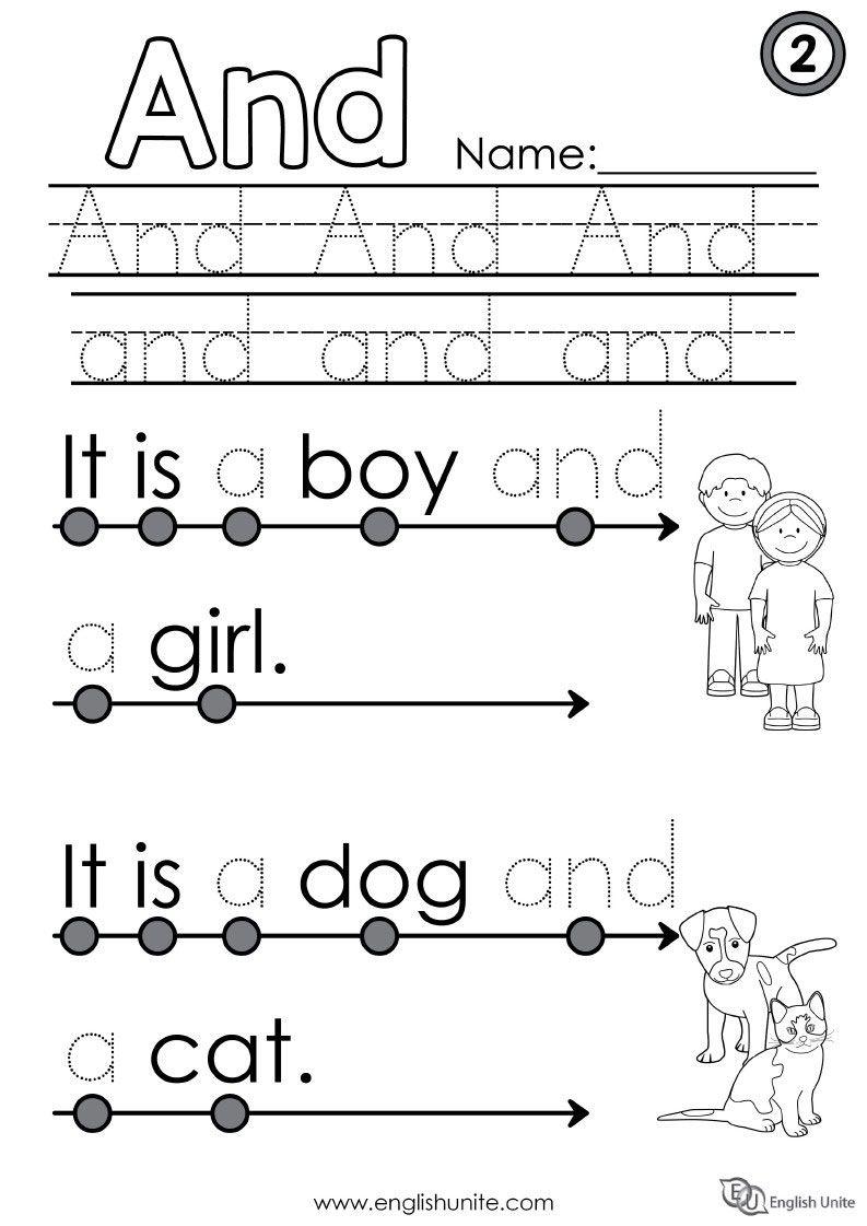 Beginning Reading 2 And English Unite Sight Words Kindergarten Phonics Reading Reading Worksheets [ 1121 x 793 Pixel ]