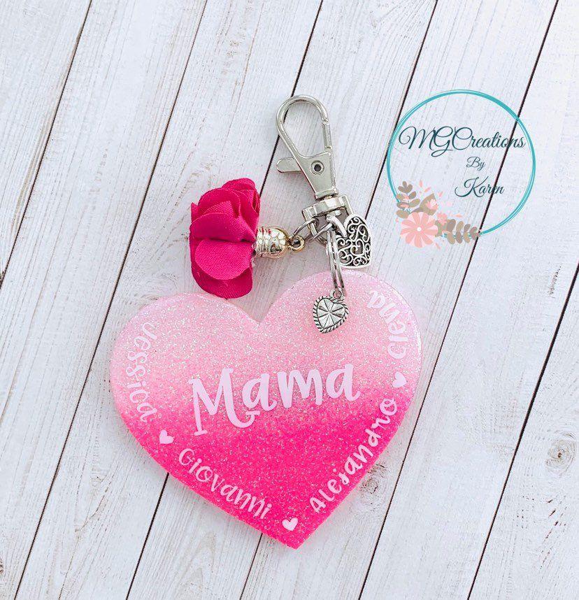 Mom Keychain Mother Key Chain Mothers Day KeyChain