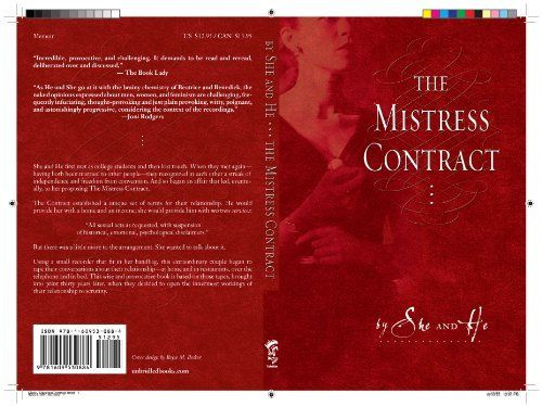 The Mistress Contract By She And He Httpamazondp