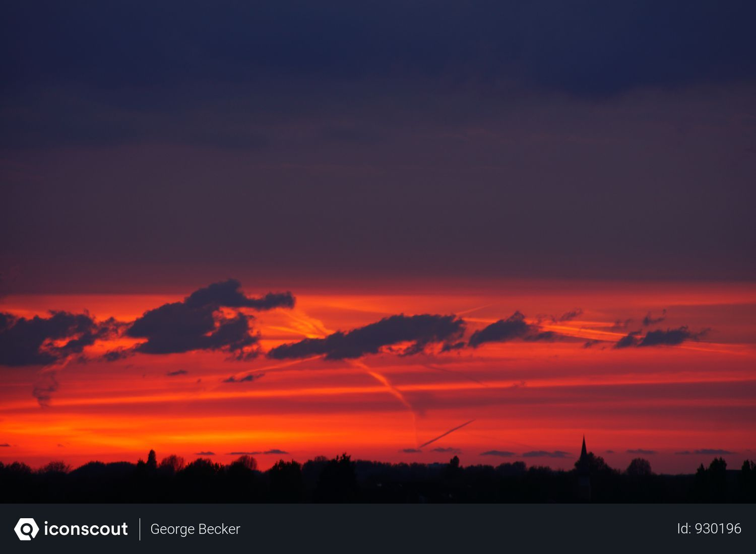 Free Beautiful Orange Sunset Sky With Dark Clouds Photo Download In Png Jpg Format Sunset Sky Cloud Photos Sunset