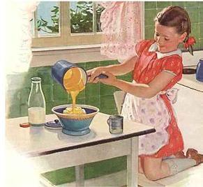 Baking...
