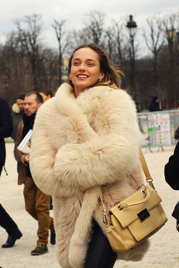 There's a chill in the air! You may need one of these fur coats... www.fashioncompassion.ca