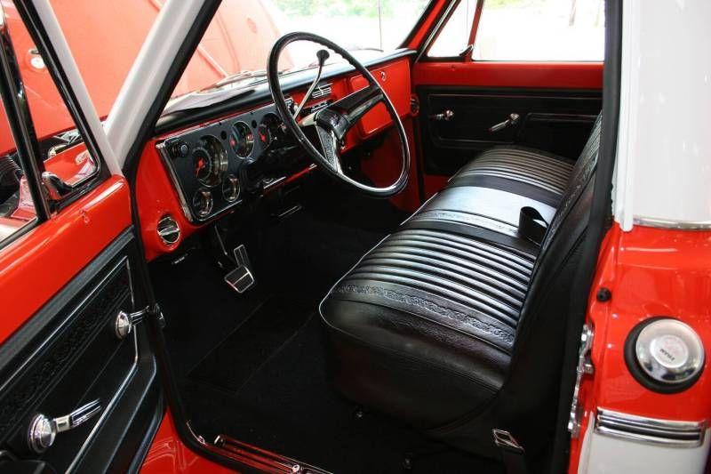 love this interior Chevrolet trucks, Gmc trucks, Trucks