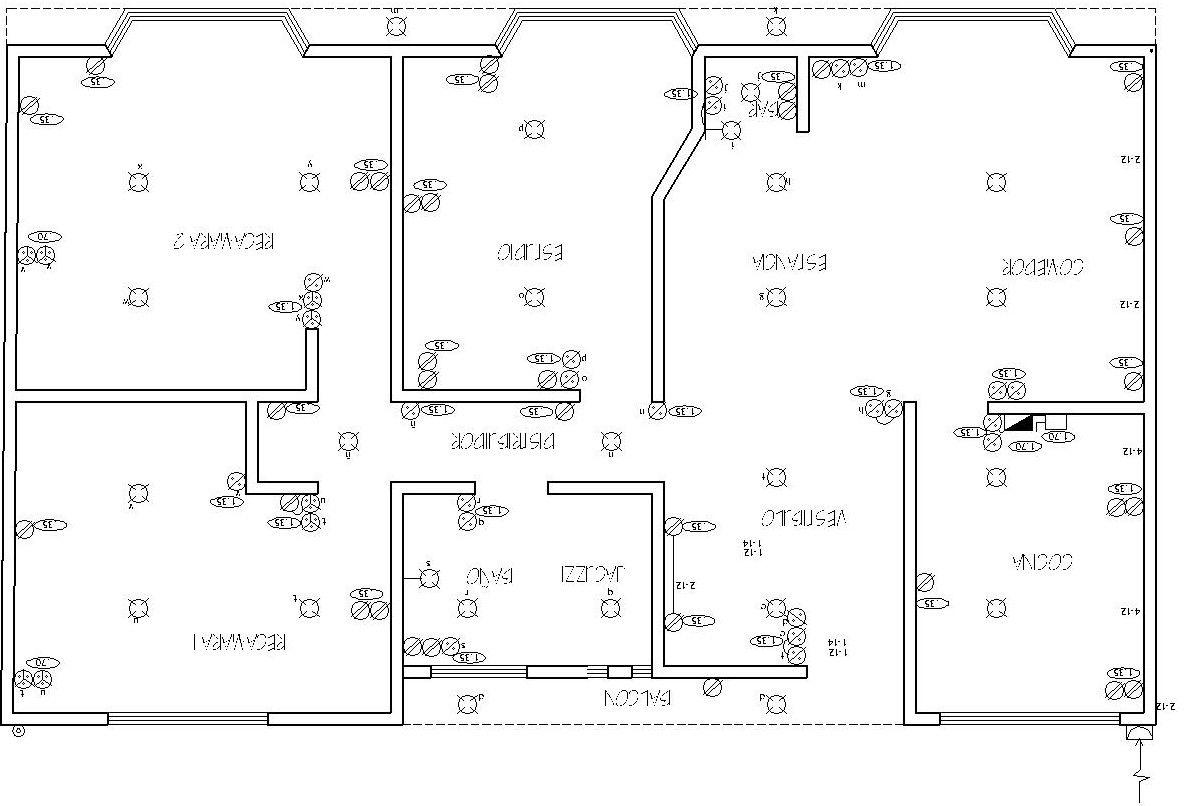 Realizacion De Un Plano Electrico Arqzon Plano Electrico Diagrama De Instalacion Electrica Diagrama De Circuito Electrico