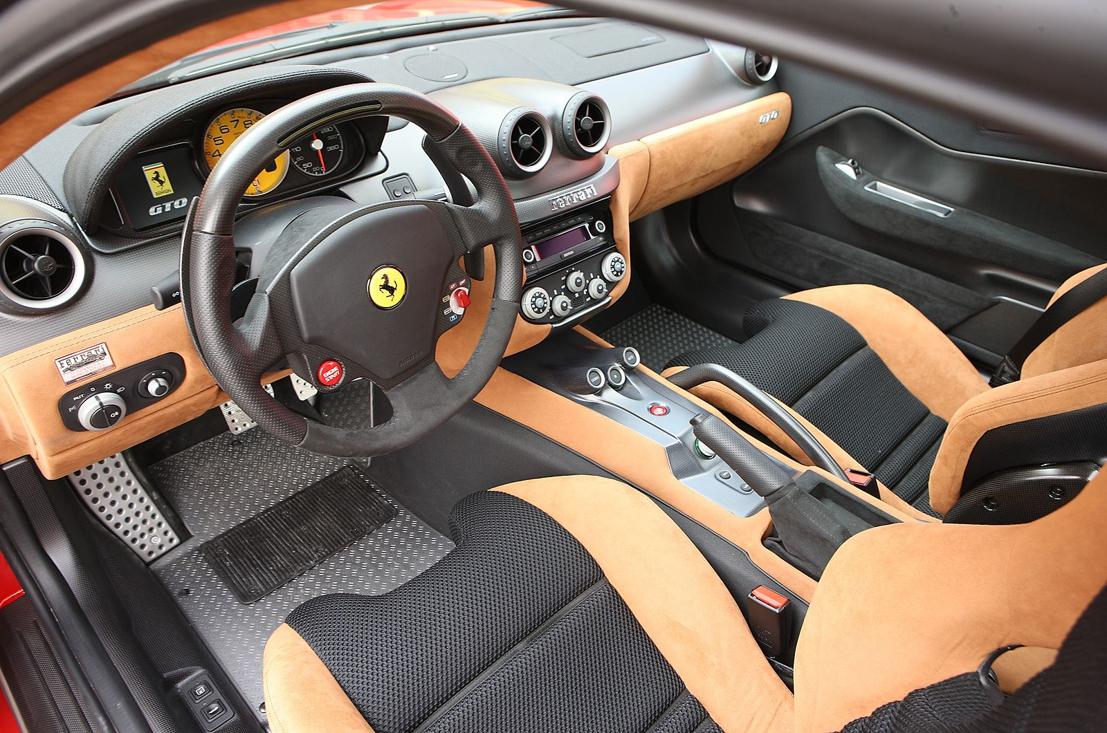 The Interior Has A Feel Of A Gentleman S Racer With Carbonfibre