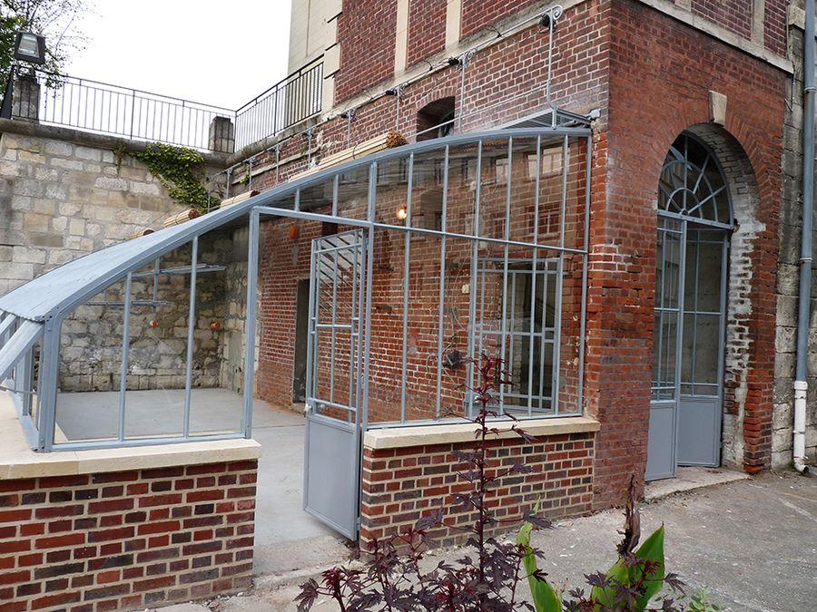 Restauration de serres et verrières anciennes | Entree de maison exterieur, Jardin d'hiver ...