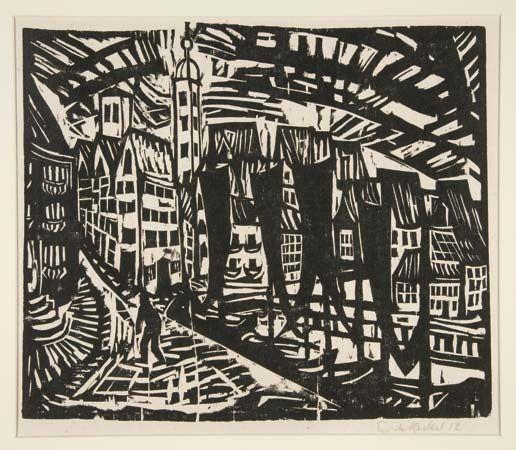Germany,1912 Stralsund Erich Heckel Reproduction Fine Art Print