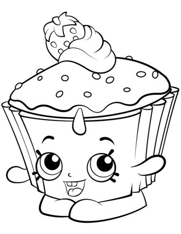 cupcake chic shopkin m 229 larbok бесплатные раскраски