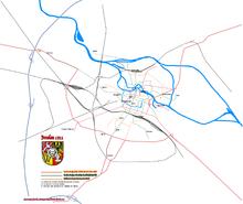 Die 3 Strassenbahngesellschaften in Breslau 1911
