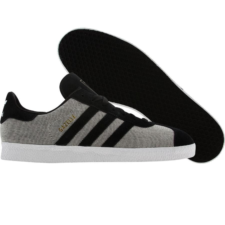 adidas gazelle grey and black