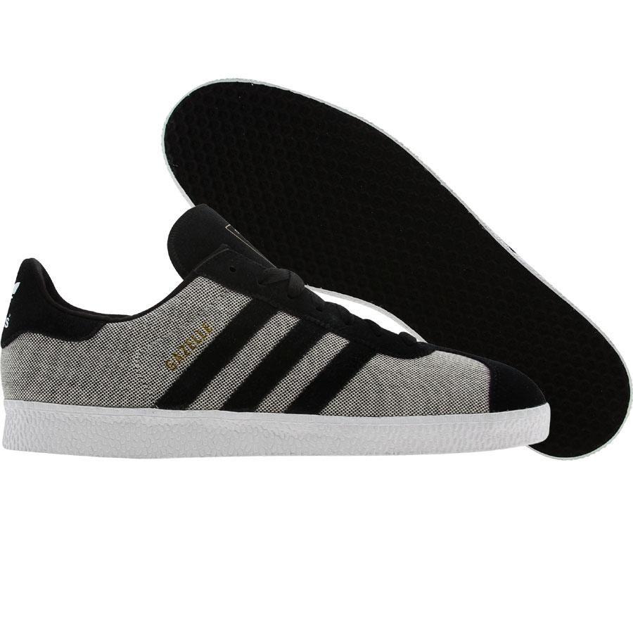 Adidas Gazelle 2 (black / white) V24417 - $64.99