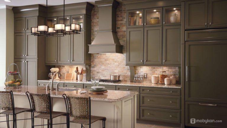 صور مطابخ حديثه و اشكال مطابخ مودرن و مميزه من موبيكان Kitchen Cabinets Design Layout Trendy Kitchen Backsplash Kitchen Cabinet Remodel