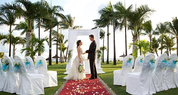Sugar Beach Wedding Gazebo In Mauritius
