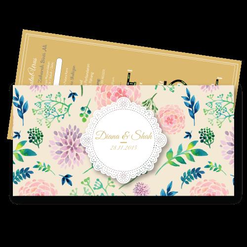 Kad Kahwin Vintage 2 Murah Artcard 260gsm Cuma Rm0 27 Kad Kahwin Wedding Cards Invitation Cards