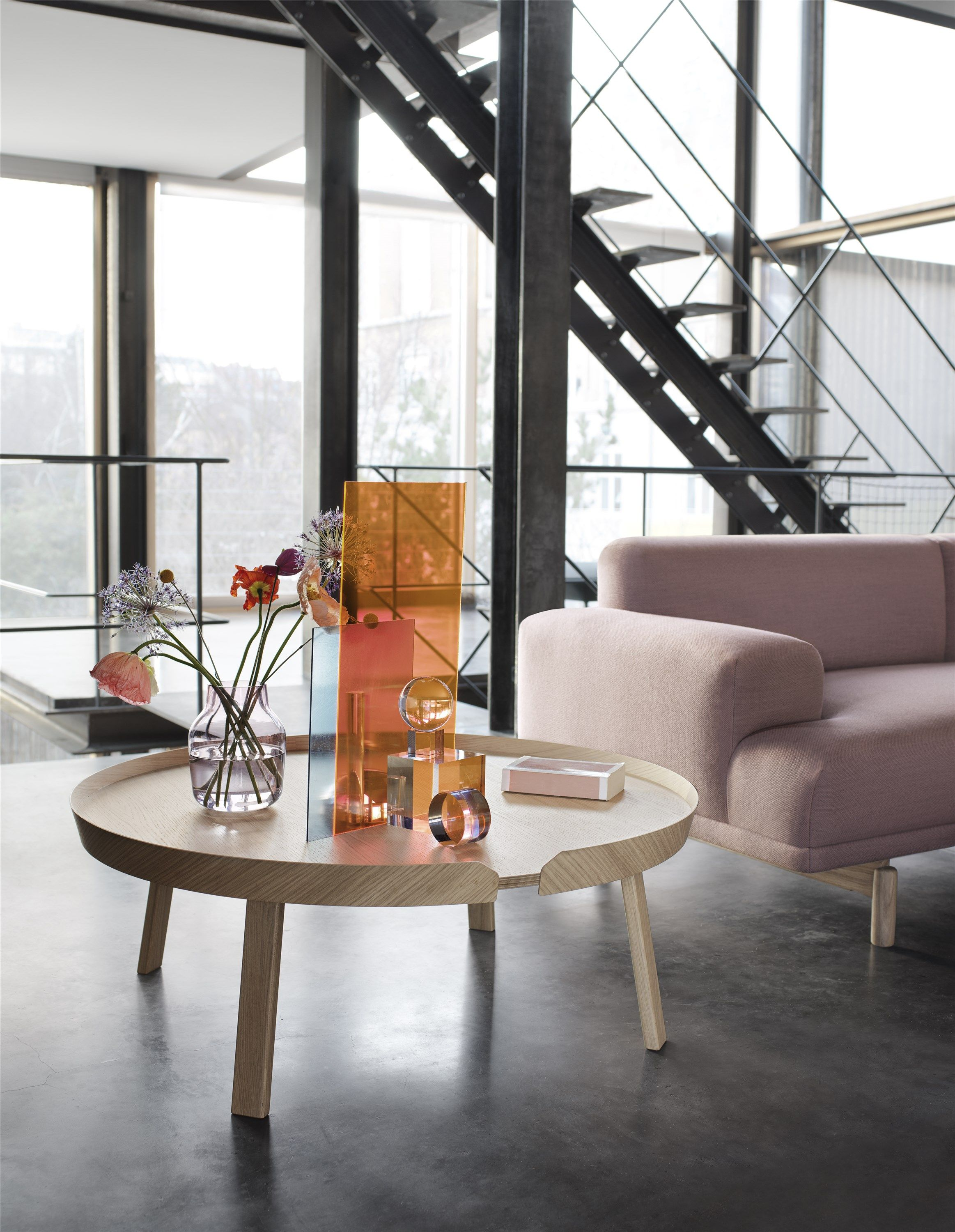 Couchtisch Connox Muuto Around Couchtisch Ø 72 Cm Eiche In 2019 Architecture