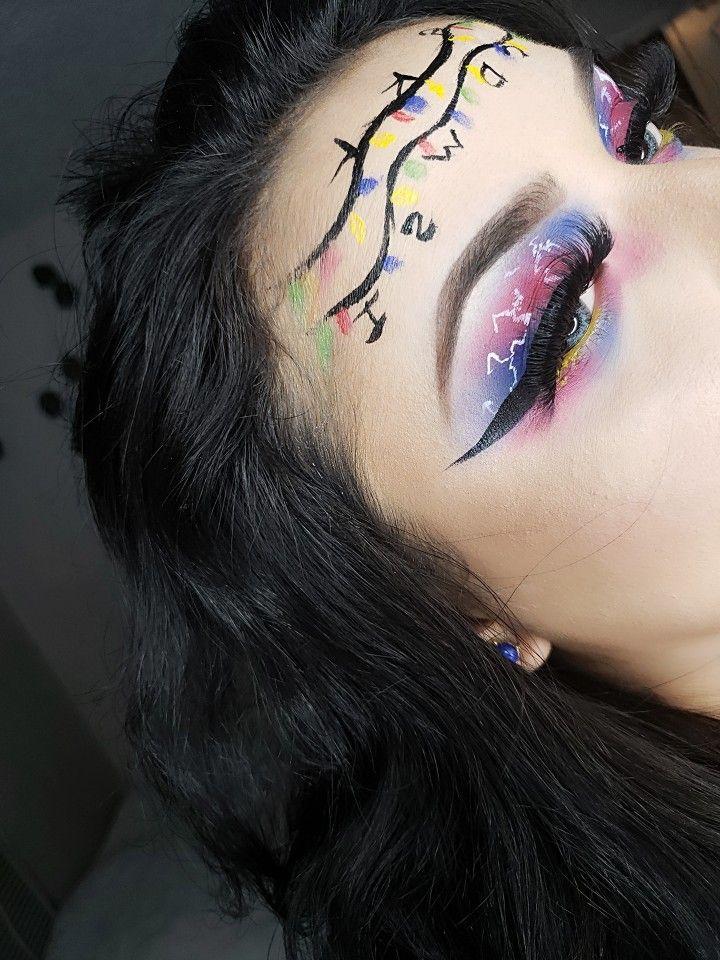 Stranger things makeup Eye makeup art, Stranger things